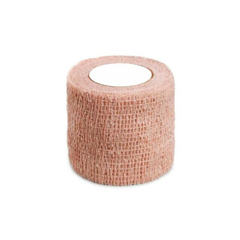 Bandagem Elástica Autoaderente 5cm x 5m - Bege